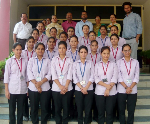 Medanta Medi-City Hospital, Gurugram, headed by its authorized official representative Davinder Malik, conducted an interview at Rattan Group of Institutions ,College of Nursing, Mohali