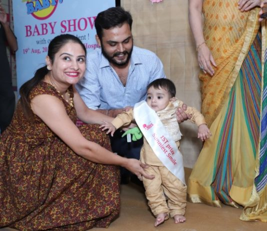 Paras Bliss Hospital hosts Baby show