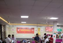 44 th BLOOD DONATION CAMP at Shri Satyanarayan Mandir & Dharamshala, Sector 22-C, Chandigarh