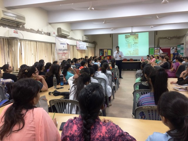 Talk on breastfeeding practices held for College Students marks World Breastfeeding Week