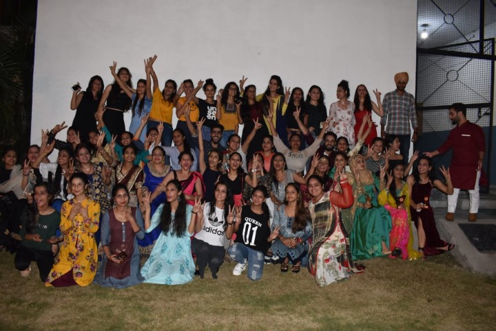 The Heritage, History and Culture Society of GGDSD College, Kheri Gurna, Banur celebrated Teej festival today