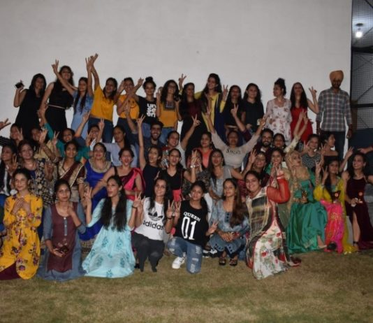 Farewell organized by management faculty&student of Ambika College of Nursing