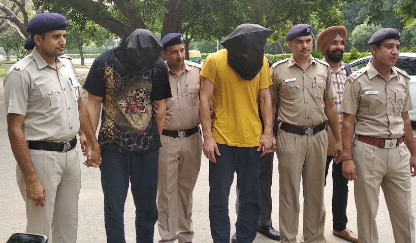 Crime Branch arrested International Cheaters involved in sneaking at ATM Machines