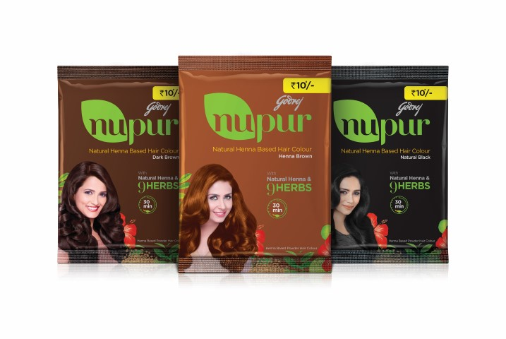 Godrej Nupur launched Heena Based Hair Colour