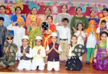 Independence week celebrations concluded at The Holy wonder Smart school