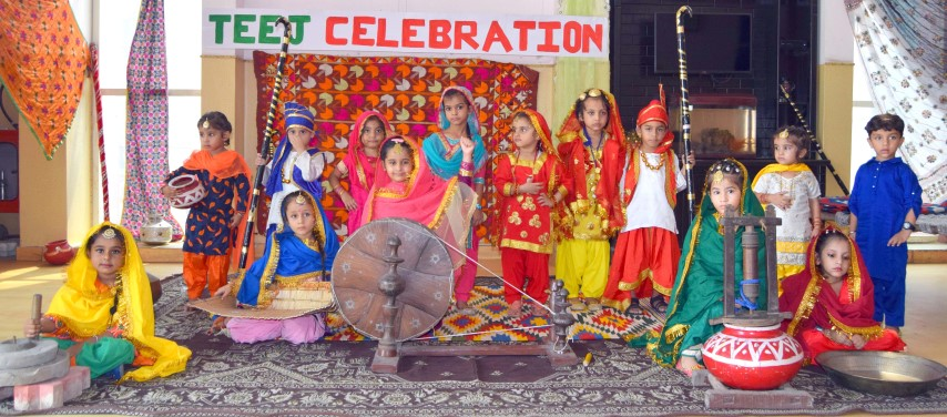 Teej celebrated at The Holy Wonder Smart School