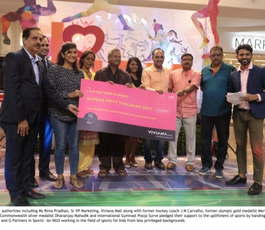 Viviana Mall, the Destination Mall, flagged off its signature campaign on 12th August 2018 to wish the Indian Asian games 2018 contingent the very best and promising them the full support of the nation