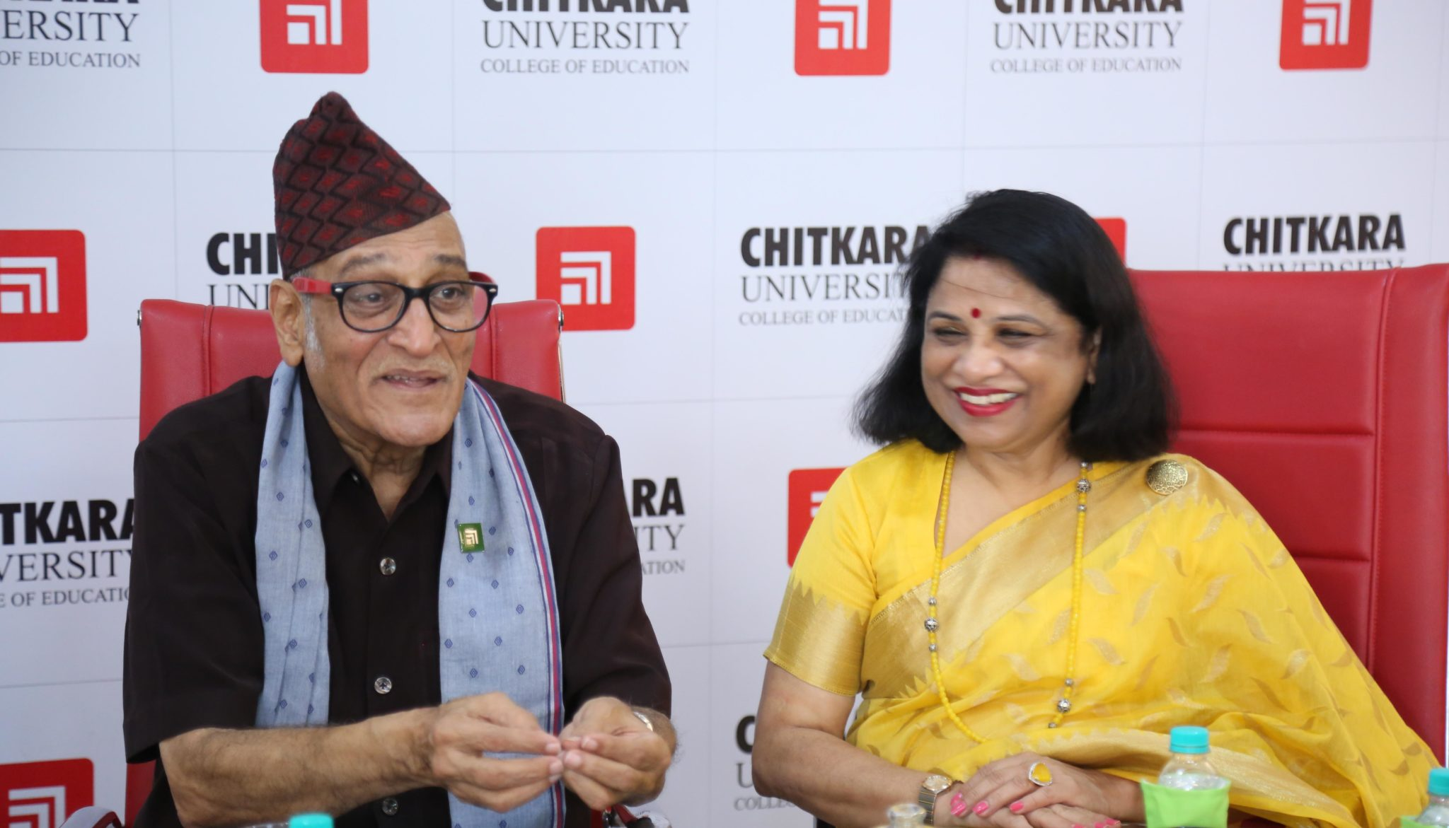 Mohan Agashes' visit to the GOOD DUNIYA @ Chandigarh for a talk at Chitkara!!