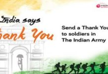 Snapdeal launches India Says Thank You campaign