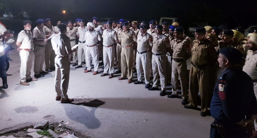 Special Checking & Security Measures by Chandigarh Police in view of forthcoming Independence Day-2018