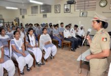 Road Safety  Education Awareness Program By CTP At Dev Samaj College
