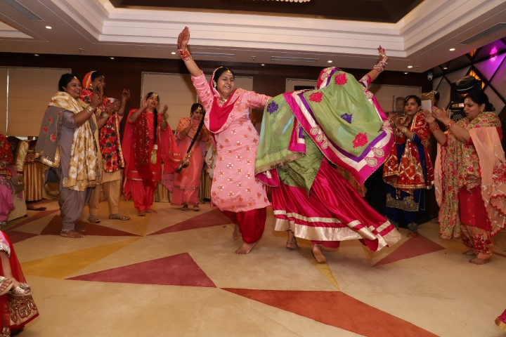 Festivity&vibrancy is celebrated in Localities of sunny enclave Punjab&surrounding area