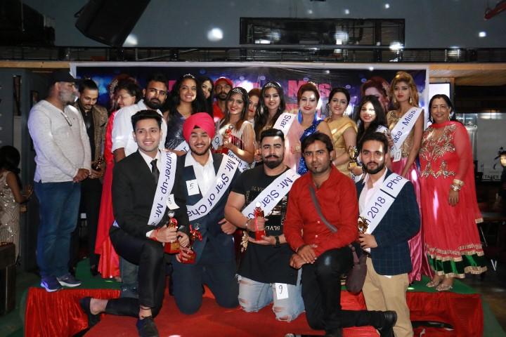Mr, Miss and Mrs Star of Chandigarh 2018 titles go to Jaspreet, Tanisha&Anita