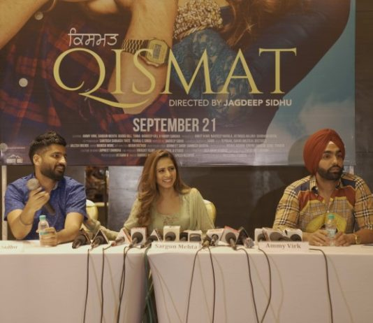 QISMAT: Ammy Virk and Sargun Mehta's Upcoming Movie