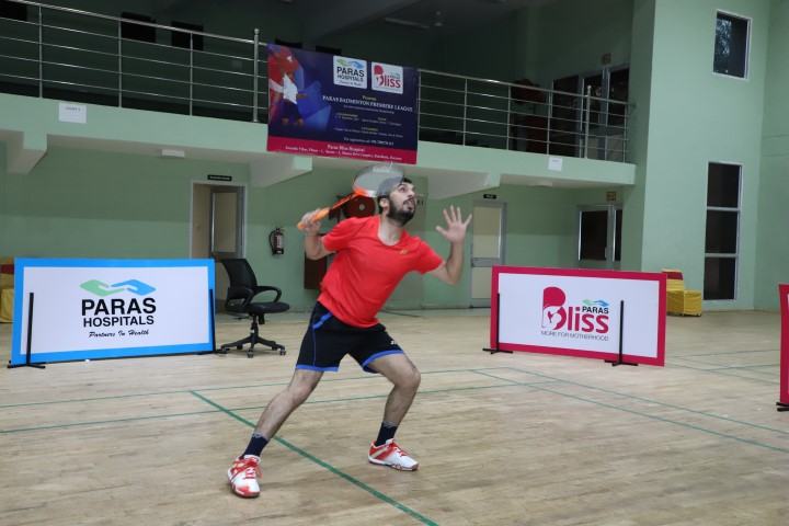 Paras Bliss and Paras Hospital, Panchkula organised the annual Paras Badminton Premiere League at Sports Complex, Sector 7, Chandigarh for IT companies in Chandigarh