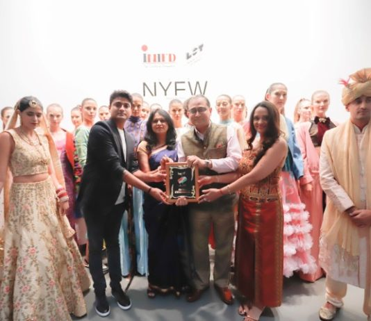 INIFD Designers & London School of Trends Showcase Collection at Vibrant India