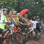 Grecian Cycle Rally held at Sukhna Lake