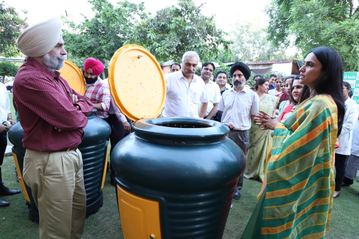 Fortis becomes tricity's first hospital to install Organic Community Composters
