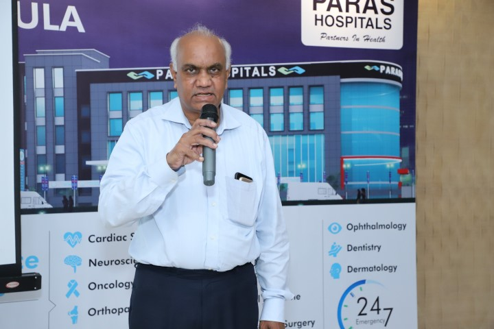 Paras Bliss Hospital organises Parenting Session