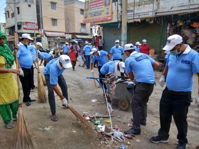 Bunge India & Traders Association launch Swachh Bharat Abhiyan