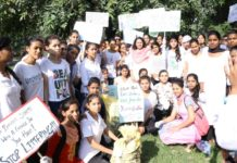 DSCW 45 Students participate in cleanliness drive