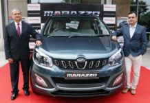 Mahindra Unveils Marazzo–Globally Engineered with Bold Design