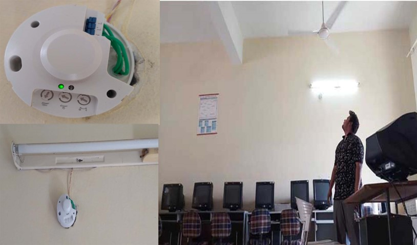 Indo Global Colleges students developed Room Automation using PIR Sensor for Savings Energy