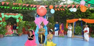 Woodlands House School Celebrated Janmashtami