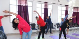 Rotary Club Panchkula starts Yoga Classes