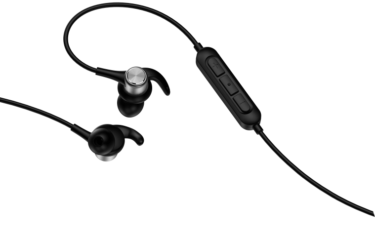 Equipped with shark fin designed sport tips and earbuds, Shark is the perfect accessory to accompany you on the go