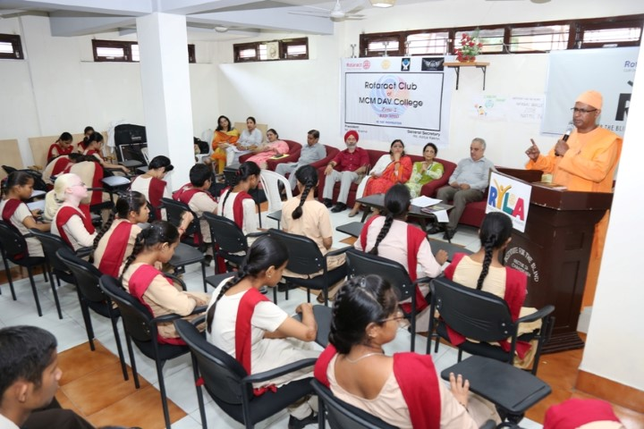 Rotary organizes leadership camp for visually challenged