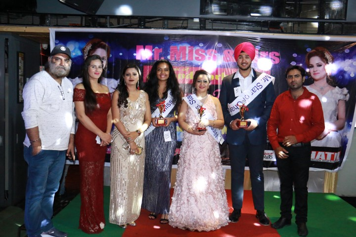 Mr, Miss,Mrs Star, Chandigarh 2018 titles go to Jaspreet, Tanisha&Anita