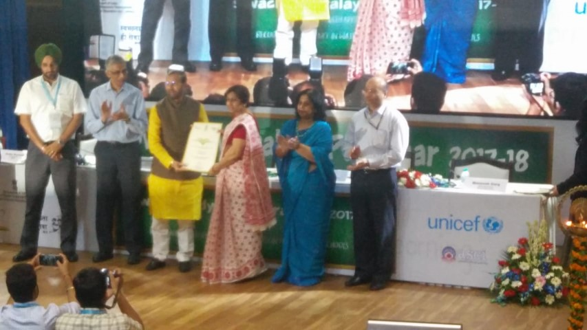 City two government schools awarded Swachh Vidyalayya Purskaar