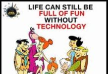 life without gadgets...