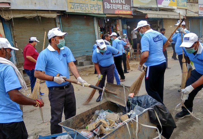 Bunge India & Karnal Traders Association organize Swachata Abhiyan