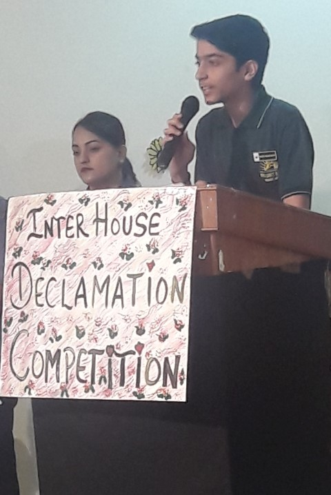 Declamation Contest held at BRILLIANCE