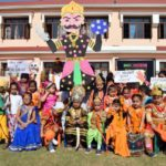 Ashmah International School celebrated Dussehra