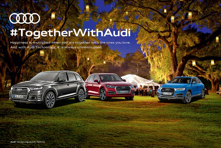 #TogetherWithAudi campaign rolled out