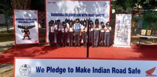 Honda ushers Dussehra with Road Safety drive for school children