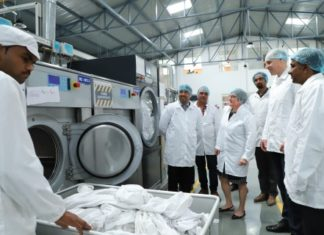 Lindström India opens state-of-the-art Workwear Service Unit in Barwala