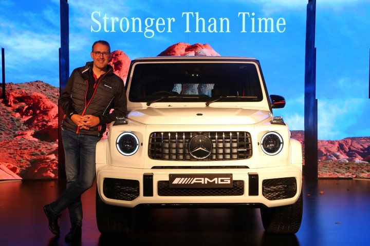 Mercedes-Benz India launches the iconic performance off-roader:the AMG G 63