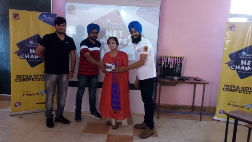 ConnectNetChamps:Intra-School Competition staged on Cyber Security
