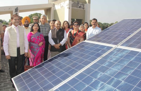 25 KVP solar power plant installed at Ankur School