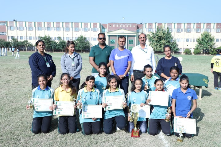 Six-A-Side Football Tournament :-Vivek Boys, Satluj Girls Clinch Titles