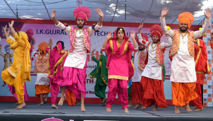 Three Day PTU Youth Festival 2018-19 commenced at GJIMT