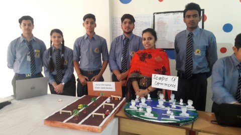 · Panorama Exhibition at Brilliance World Panchkula, October 29,2018 An integrated academic exhibition 'Panorama' was hosted at Brilliance World School, Sec 12 here. 'Panaroma' was an attempt to highlight the fact that all subjects in school are equally important and are also mutually connected. Students prepared models, charts and presentations related to fundamentals of mathematics like different mechanisms of addition, division , prime numbers etc. Models depicting higher level science topics like optic fibre and its usages were also put up. Many models and games were prepared related to languages. There were presentations related to sports and general knowledge as well. Students from I-XII prepared interesting models & presentations on important incidents in history, various technicalities of languages and so on.