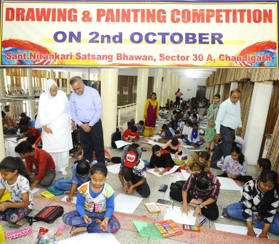 Drawing and painting competition organised