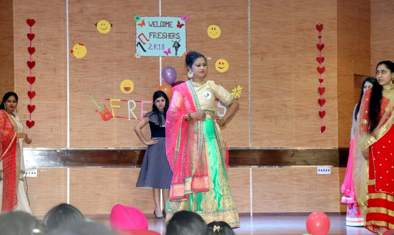 RGI organized fresher's party at its campus