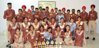Indus Public School Shines in Zonal Athletics Meets