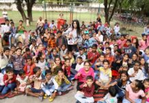 NGO Hamari Kaksha and Nirwana Greens Celebrates World food day